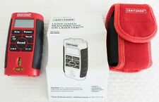 Craftsman Laser Guided Measuring Tool W/ Laser Trac  48252, Pouch and Manual