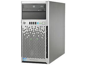 HP Proliant ML310e Gen8 v2 Intel 4Core E3-1220v3 3,1GHz 8GB RAM 8SFF 900GB HDD