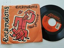 """ROCKMELONS - New Groove / Dreams In The Empty City 1988 SYNTH POP Downtempo 7"""""""