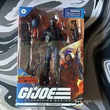 GI Joe Classified Series Trooper Cobra Island Target Exclusive Viper In Hand