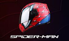 SPIDERMAN CASCO MOTO - HELMET ABS IRON MAN SPIDER ELMETTO AVENGERS - NO MARVEL