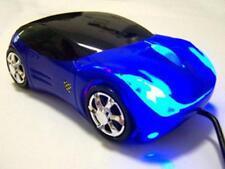 Cool Blue forme de voiture USB 3D Souris optique pour PC/ordinateur portable UP