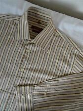 ABERCROMBIE & FITCH  Long-sleeve    Slim-Fit    size  L   Striped     052 R