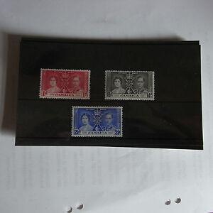 GEORGE VI 1937 CORONATION  JAMAICA   UN MOUNTED MINT