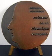 Médaille sc hajdu Président de la République Georges Pompidou 1971 Medal
