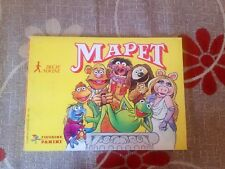 THE MUPPET SHOW 1978 PANINI - COMPLETE ALBUM WITH ALL STICKERS EX YU EDT