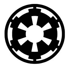 Starwars Galactic Empire Decal / Sticker