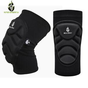 Adult Cycling Knee Pads Elbow Guard Protective Gear Roller Brace Support Skating