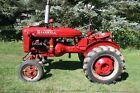 1945 International Farmall A Tractor Row Crop 4/1 Speed 4x2 4cyl 1.9L Fuel 10Gal