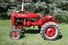 1945 International Farmall A Tractor Row Crop 41 Speed 4x2 4cyl 19l Fuel 10gal