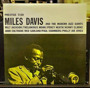 MILES DAVIS AND THE MODERN JAZZ GIANTS Prestige '89 NM Vinyl