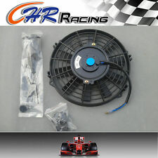 """14"""" 12V Slim Radiator Cooling Thermo Fan with Mounting kit 14 inch universal fan"""