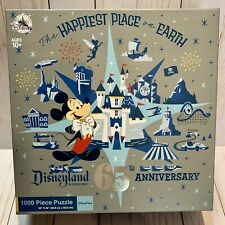 Disneyland 65th Anniversary Happiest Place On Earth Mickey Mouse Puzzle 1000 Pcs