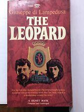THE LEOPARD By GIUSEPPE DI LAMPEDUSA Signet Books PB 1958 1960 Antique