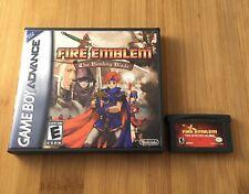 Fire Emblem: The Binding Blade w/ New Custom Case -Nintendo Game Boy - US Seller