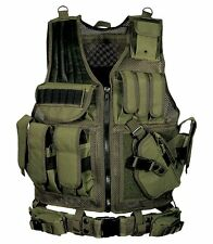 Tactical Vests Gear Holster Magazine Pouches UTG 547 Law Enforcement Sport Green