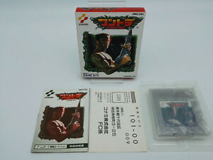 CONTRA GAME BOY BOXED JAPAN USED TESTED