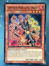 Yugioh Brotherhood of the Fire Fist - Dragon French CBLZ-FR025  1st Super Rare N