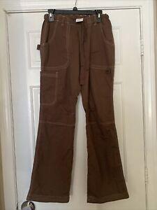 Koi By Kathy Peterson Women's Size Small Brown Scrub  Pants