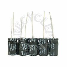 5 x 2200uF 10V Radial Lead Electrolytic Capacitor 10x17 mm