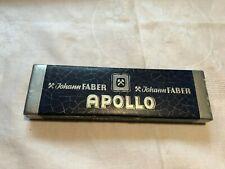 alte Bleistiftschachtel von Johann Faber, Apollo, mit unbenutzten Bleistiften