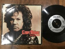 VINYL RECORD SINGLE VINTAGE RETRO 45 GARY MOORE READY FOR LOVE PICTURE COVER