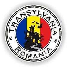 Romania Transylvania Stamp Seal Sticker Decal Car Truck Laptop Tablet Fridge #03