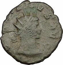 GALLIENUS son of Valerian I  Ancient Roman Coin Forethought Cult Wealth   i39207