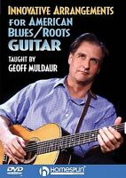 Innovative Arrangements American Blues Roots Guitar Learn to Play Music DVD