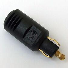 12V or 24 VOLT PLUG fits HELLA DIN CONTINENTAL type SOCKETS 8 AMP
