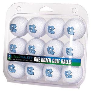North Carolina Tar Heels Dozen 12 Pack Golf Balls