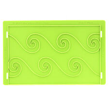 Ebb & Flow Silicone Onlay Mold by Marvelous Molds #MMO-1402 Gum Paste Mold