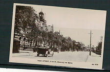 MANCHESTER,HIGH STREET  C-ON-M. OLD REAL PHOTO POSTCARD