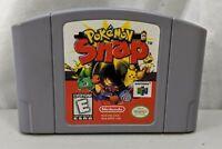 Nintendo 64 Game Cart Pokemon Snap Game Cartridge N64 Rare Pikachu Tested Works