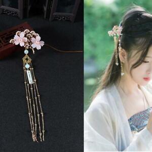 New Women Hanfu Tassel Hairpin Hair Accessories Hair Stick Girl Step Shake
