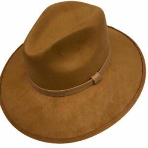 Men Cowboy Leather Hat