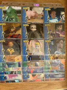 Disney Pixar Treasures - Trading Card Set - 76/90 Cards - Incomplete