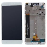 PANTALLA COMPLETA LCD + TACTIL + MARCO XIAOMI REDMI NOTE 4 BLANCO