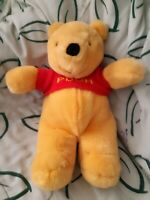 "Vintage Winnie the Pooh Stuffed Plush Authentic Disney Store 16"""