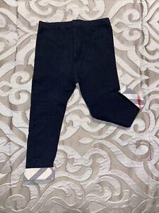 Burberry Black Tights Baby Girl / Boy Unisex Sz 2
