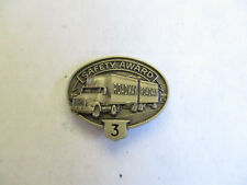 Roadway 3yr Trucking Truck Driver Employee Safety Award Pin