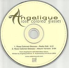 The Indians ANGELIQUE Rose colored glasses w/ RARE EDIT PROMO DJ CD single 1998