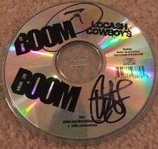 Locash Cowboys Signed Autographed Boom Boom CD OOP Rare 2006