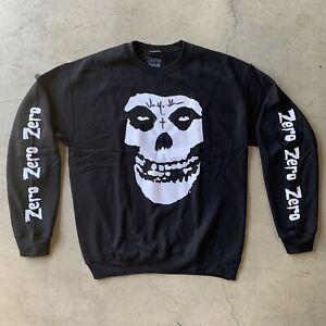 Zero X Misfits 'Fiend Skull' Sweater Signed By Jamie Thomas Size M
