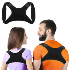 Men Women Back Posture Corrector Shoulder Straight Support Brace Belt Therapy
