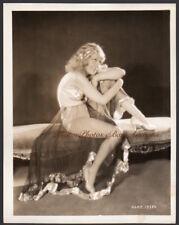 ANITA PAGE busty leggy actress VINTAGE ORIG PHOTO flapper harem girl