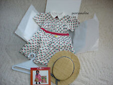 American Girl Addy's Summer Dress, Straw Hat, Berry Brooch, NEW and RETIRED!