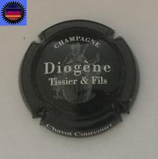 Capsule de Champagne TISSIER DIOGENE Noir et Blanc n°16a !!!!