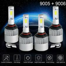 9006 9005 LED Headlight Bulbs for GMC Sierra 1500 2500HD 1999-2005 High/Low Beam