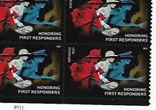 Catalog #5316 Single Stamp Honoring First Responders  2018